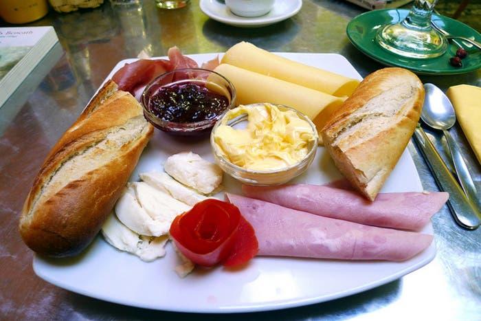 Típico Desayuno brasileño