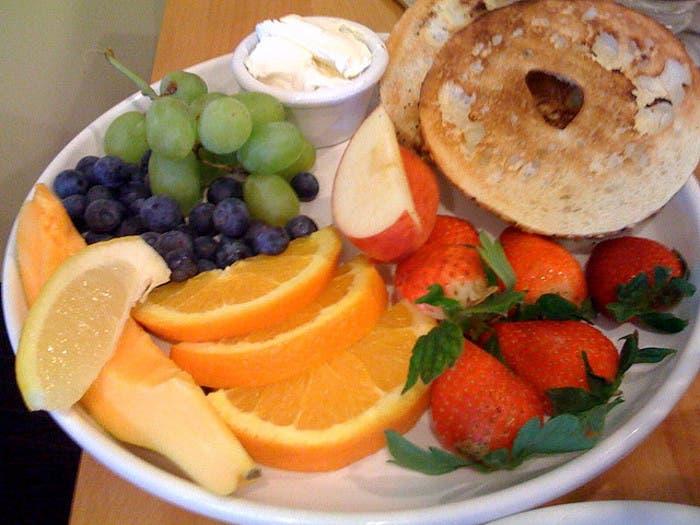 Típico desayuno hawaiano