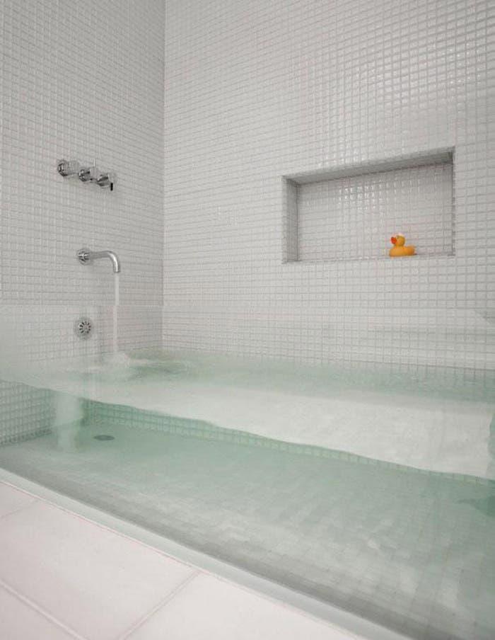Atractiva bañera