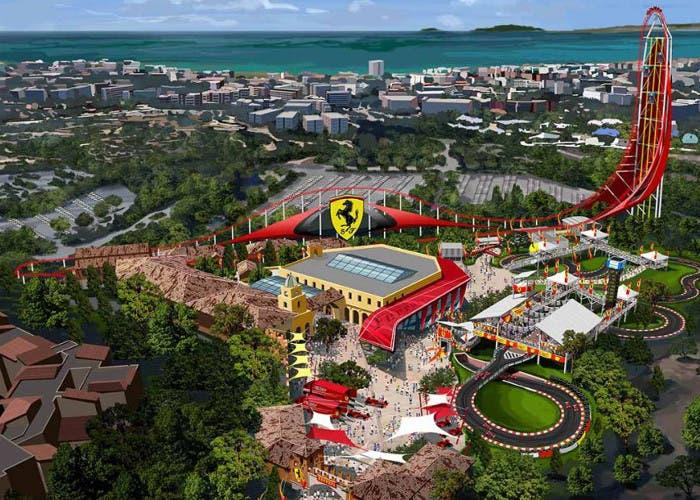 Ferrari Land en PortAventura