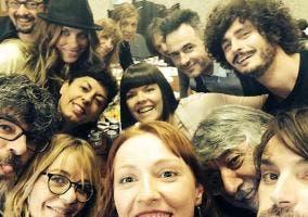 'La Que Se Avecina' imita el selfie de Ellen Degeneres