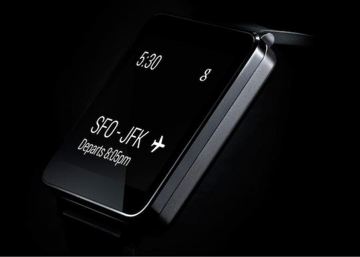Smartwatch con Android Wear LG G Watch
