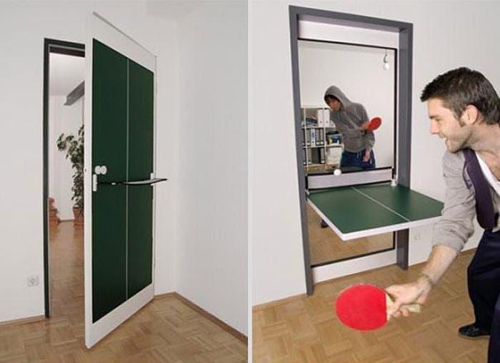 Puerta/Mesa de Ping Pong