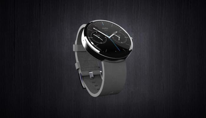 Smartwatch con Android Wear Motorola Moto 360
