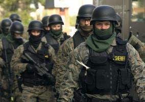 Equipo de policía SWAT
