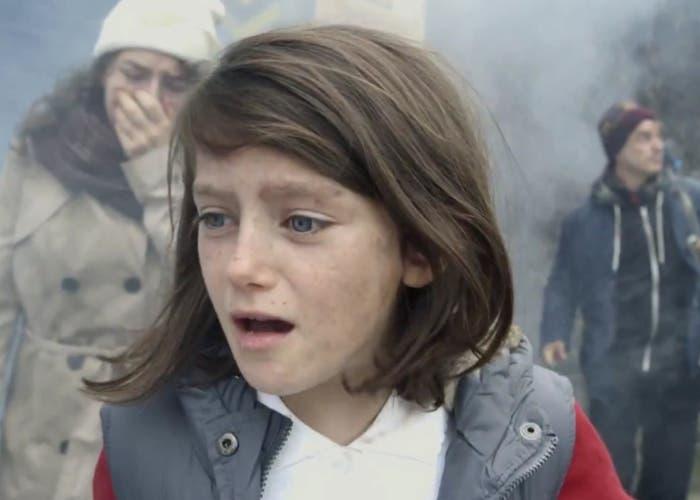 El impacto de la guerra sobre una niña