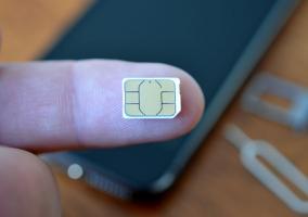 Imagen de una tarjeta SIM