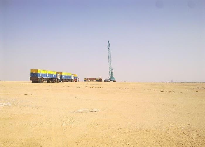 Cuando empezaron a construir Kingdom Tower en 2012