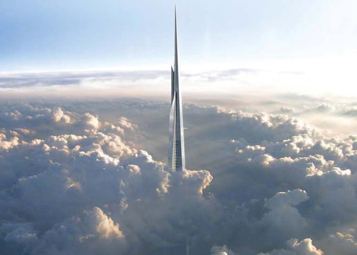 La maqueta de Kingdom Tower