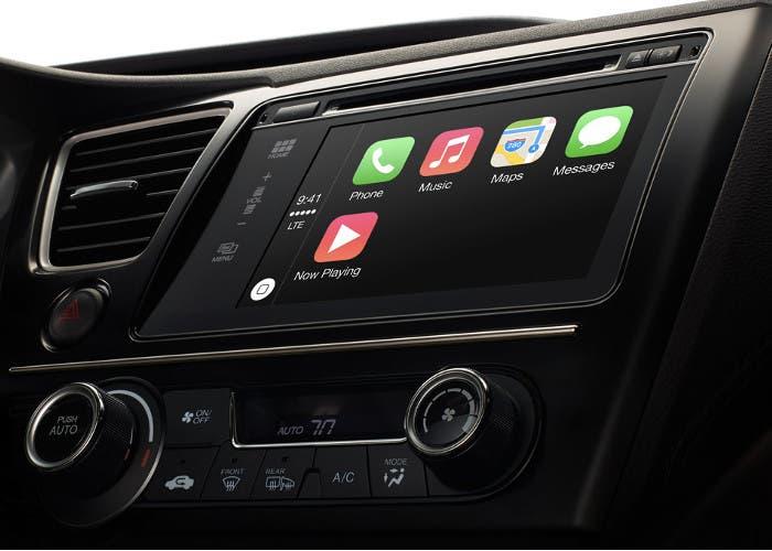 Muestra del nuevo sistema para coches de Apple