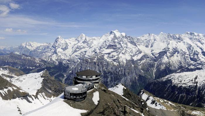 Vistas a los Alpes