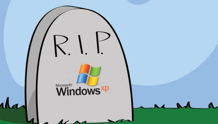 Windows XP muere