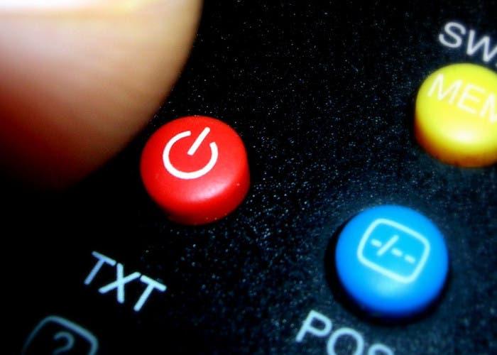 Botón de apagado