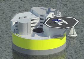 Central nuclear marina