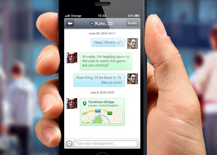 Conocer gente por whatsapp en espana