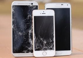 Drop test del iPhone 5s contra el Samsung Galaxy S5 y el HTC One M8