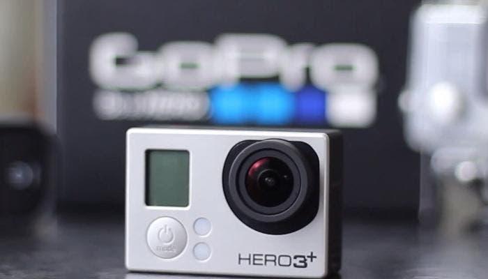 Videocámara GoPro HERO 3+ Black Edition