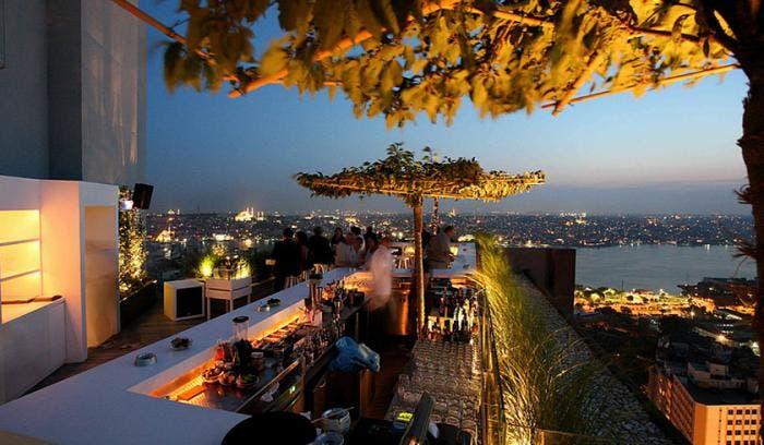 Vistas a Estambul