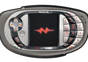 Consola teléfono Nokia N-Gage