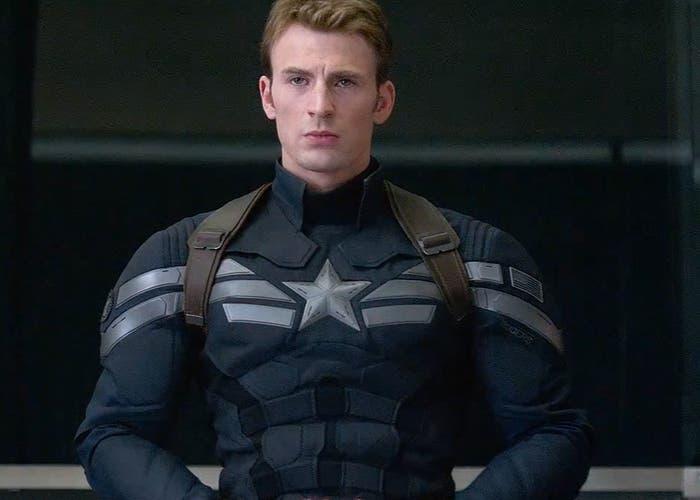 Chris Evans es el Capitán América