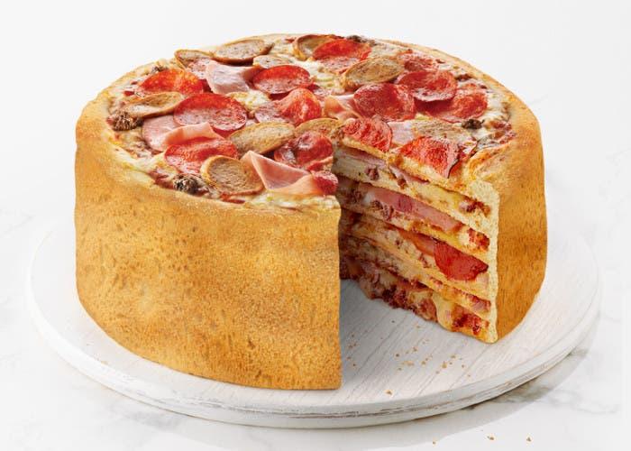 Pastel de pizza