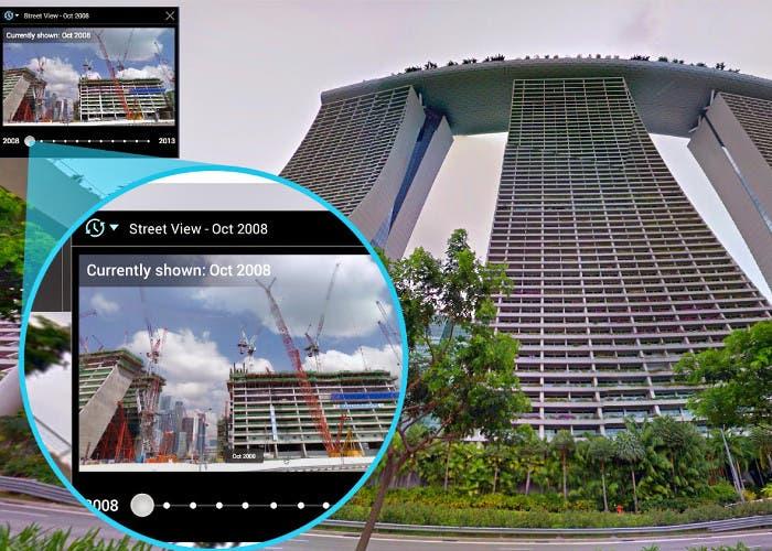 Time Machine de Google Street View