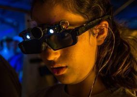 Gafas inteligentes para ciegos