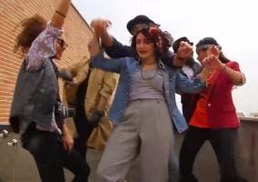 Iranies bailando Happy