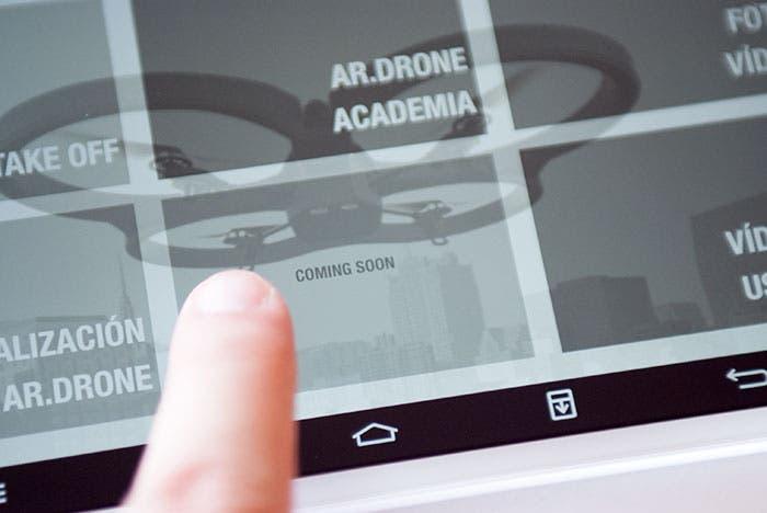 """AR.Drone 2.0 Modo directo """"coming soon"""""""