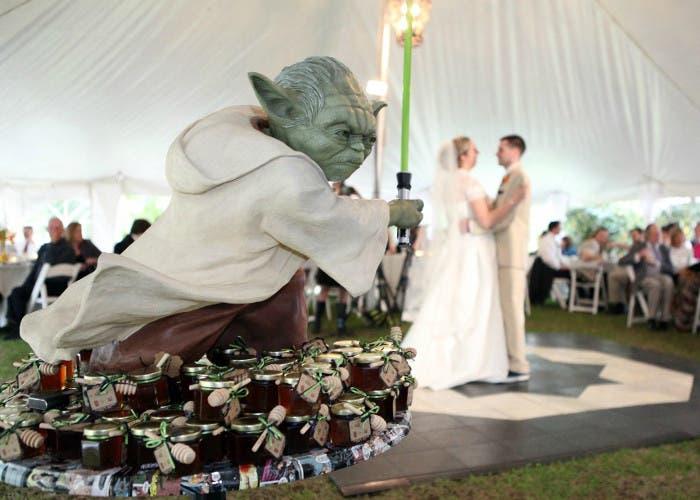 Estatua de Yoda