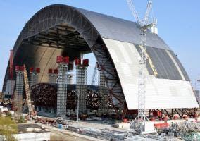 Nuevo sarcófago de Chernobyl