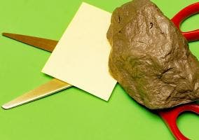 Piedra, papel y tijeras