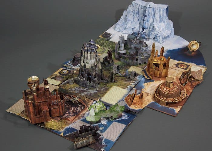 A Pop-up Guide to Westeros