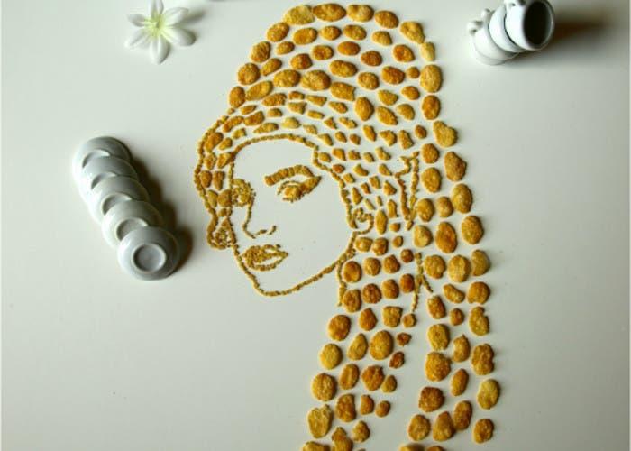 Amy Winehouse en conrflakes