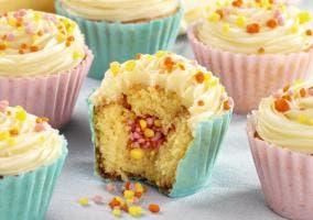 Canastillos para cupcakes comestibles