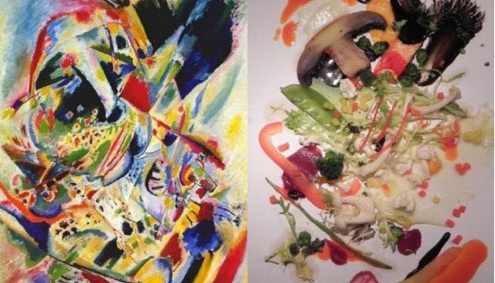 Ensalada Kandinsky