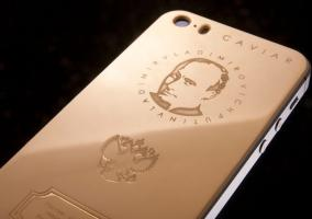 iPhone con la cara de Putin