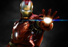 Imagen del superhéroe Iron Man