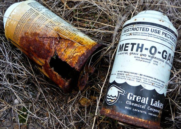 Pesticidas en spray