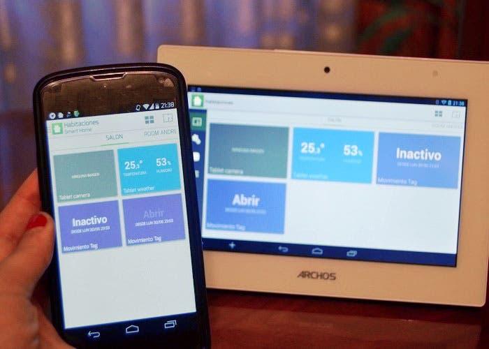 Aplicaciones Archos Smart Home