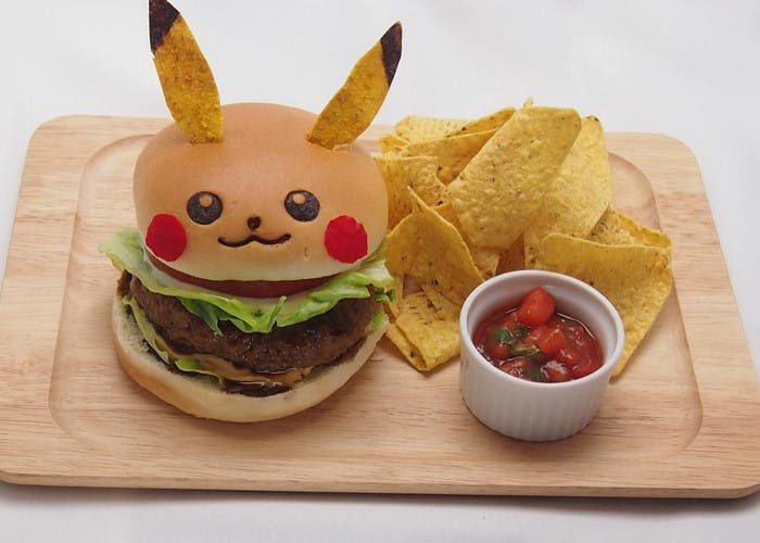 Hamburguesa de Pikachu