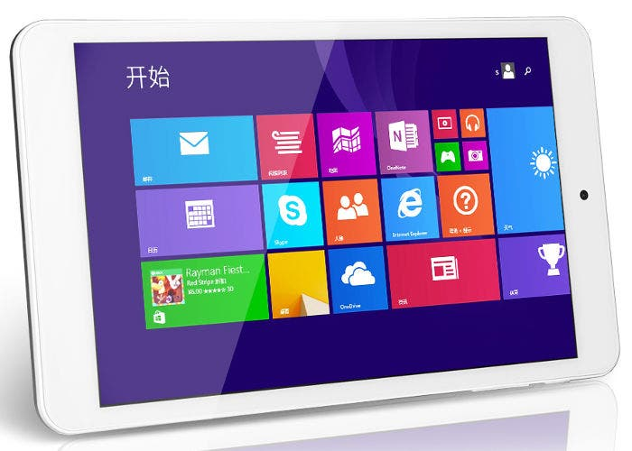 Tablet KingSing W8 en horizontal