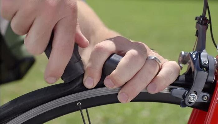 Reparar pinchazos de la bici
