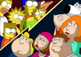 Los Simpson contra Padre de Familia