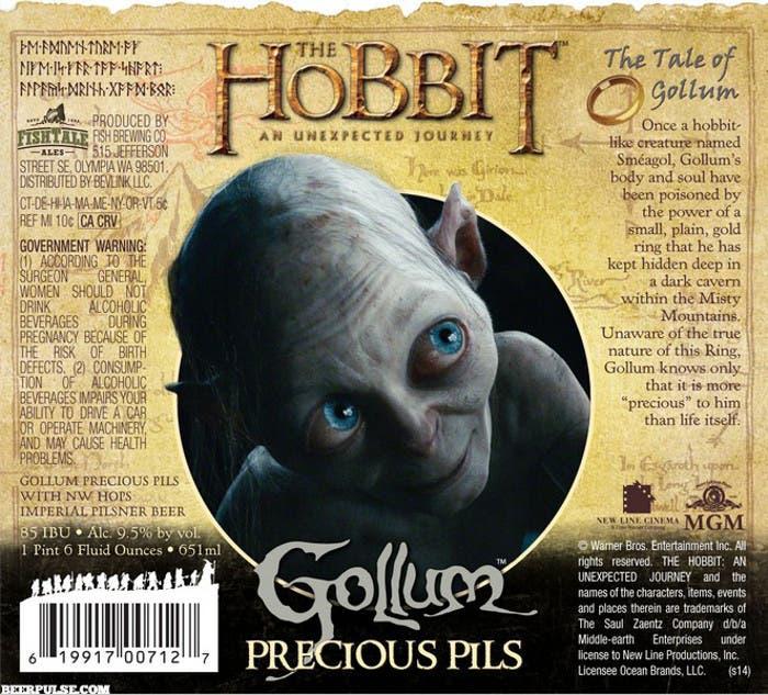 Cerveza de El Hobbit de Gollum