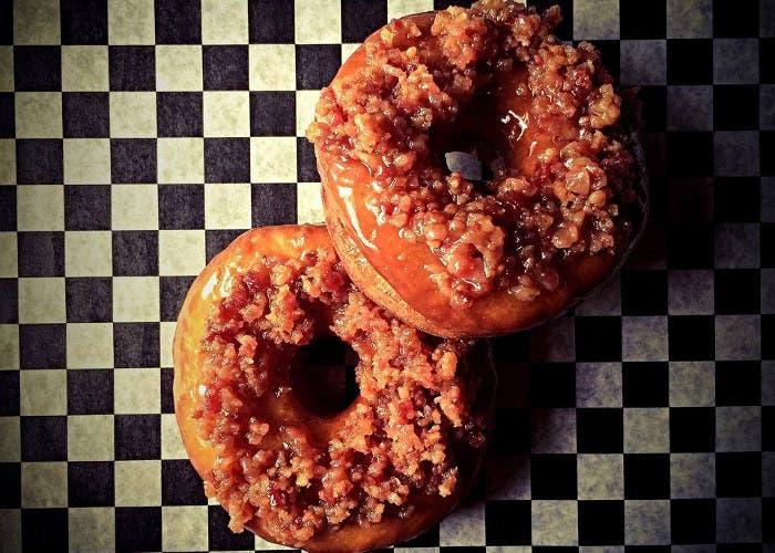 Donuts de bacon