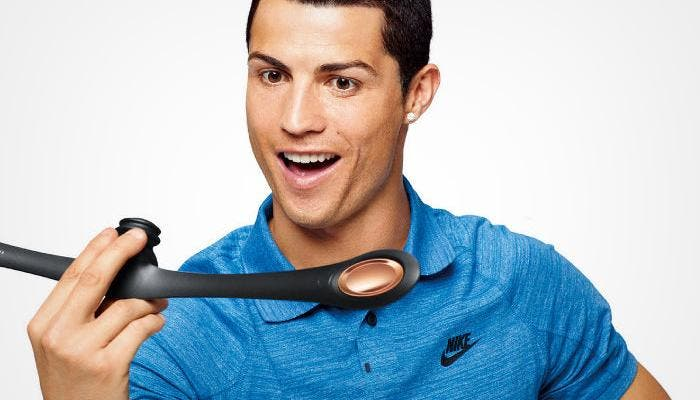 Cristiano Ronaldo con el Facial Fitness Pao