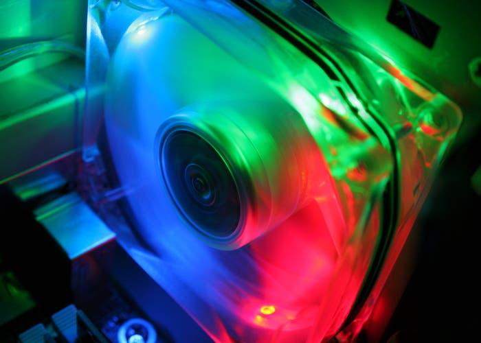 Leds de colores al ritmo de la música