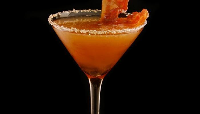 Martini de bacon