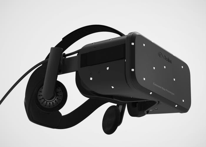 Casco de realidad virtual Oculus Rift de Facebook